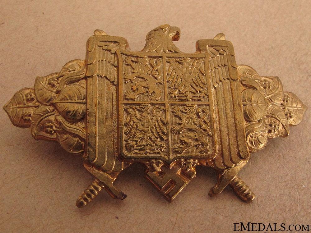 Rare Bohemia and Moravia Protectorate Badge