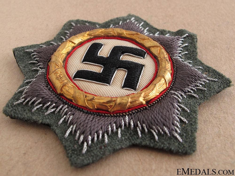 A Mint German Cross in Gold