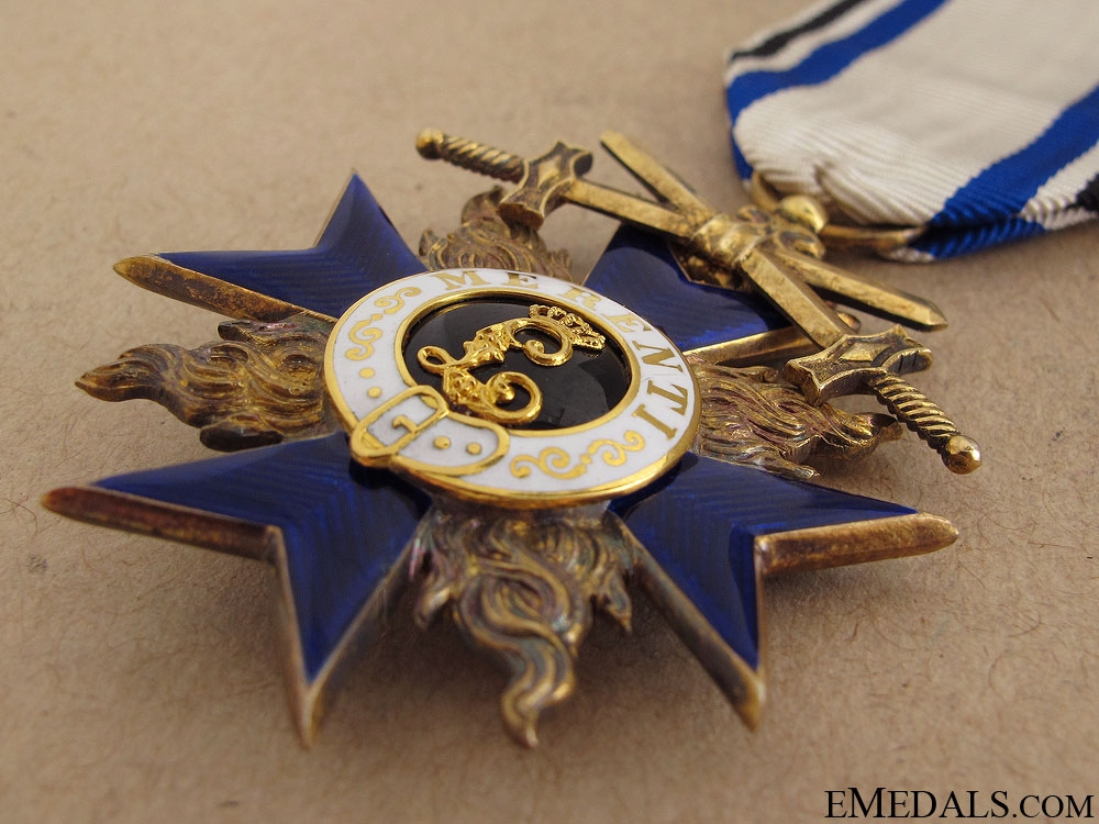 Military Merit Cross with Swords