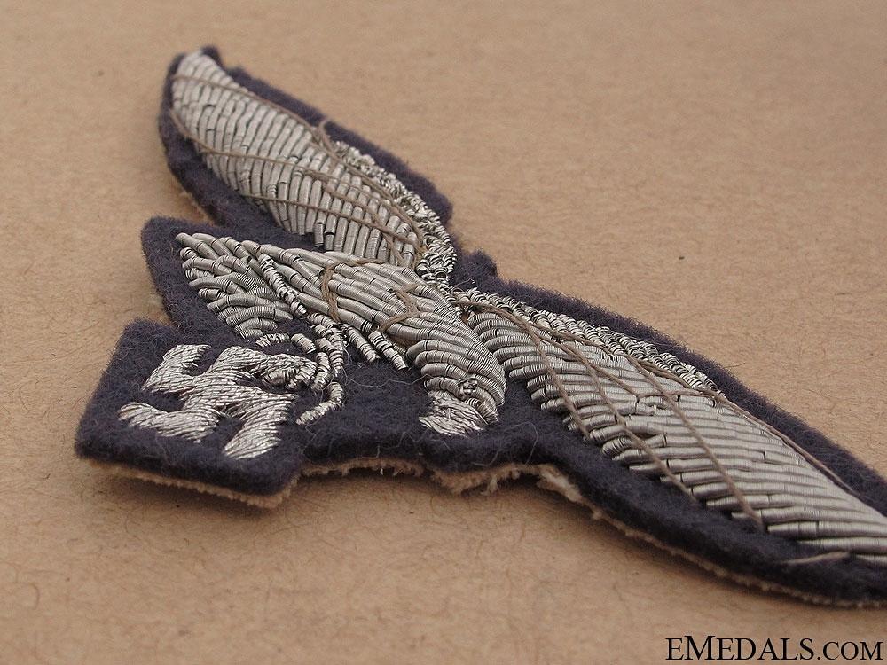 Luftwaffe Officer's Breast Eagle
