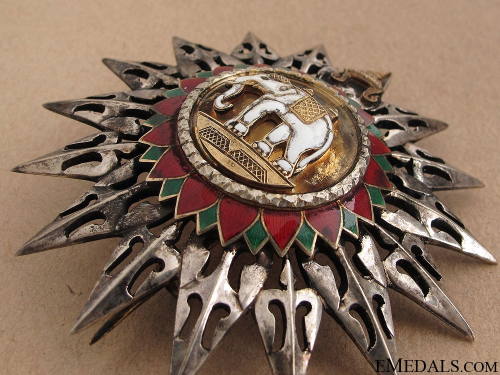 Order of the White Elephant - Grand Cross