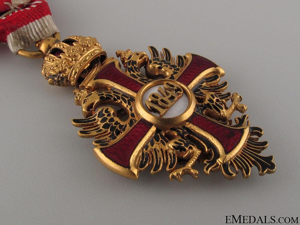 Order of Franz Joseph by V.Mayer & Shone