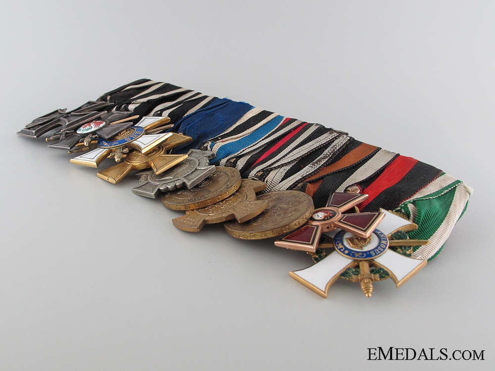 A Tsar Alexander No.1 Regiment Medal Bar for the 1870-71 Prussian War