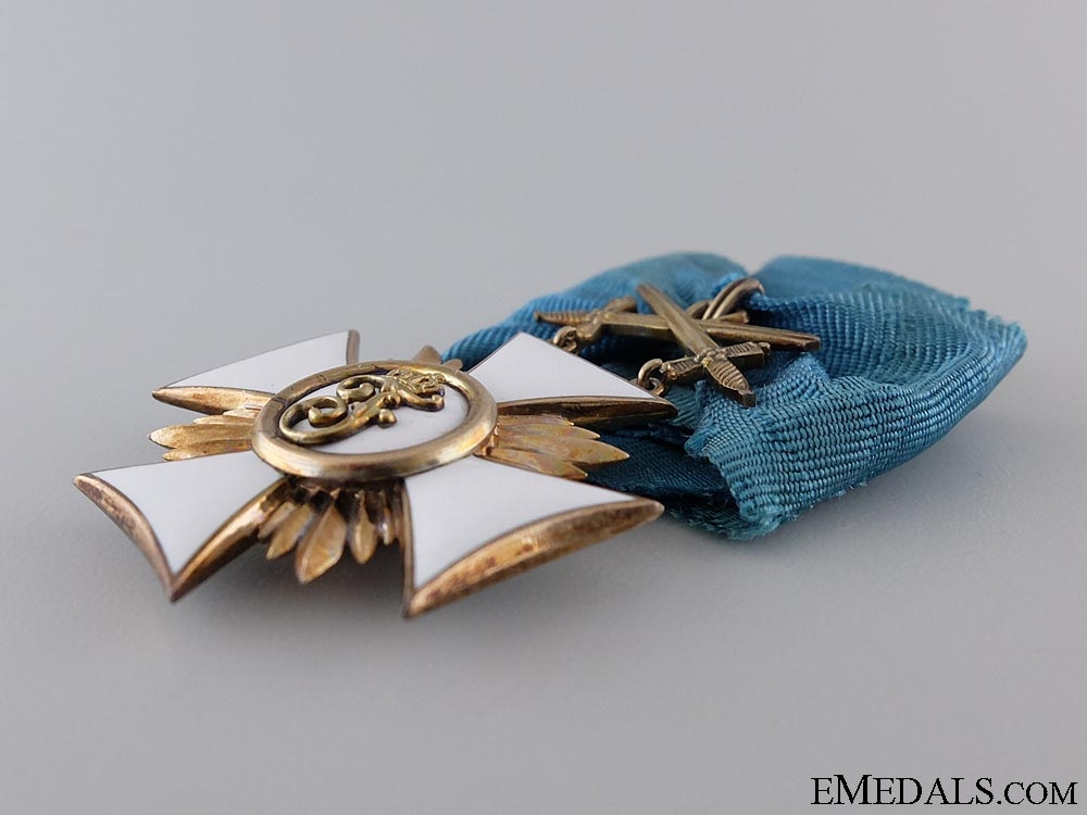 A Friedrich Order of Wurttemberg; Knight First Class with Swords