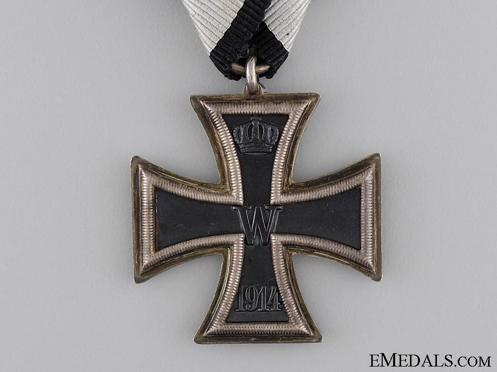 A Rare Prizen Iron Cross Second Class 1914