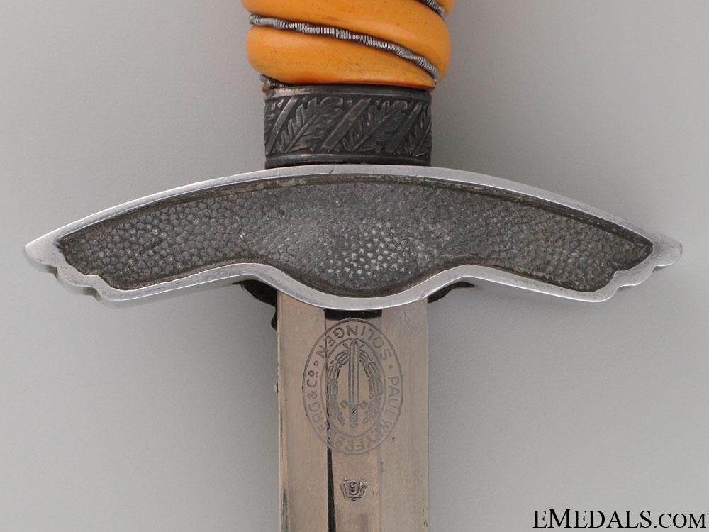 Second Model Luftwaffe Dagger By Paul Weyersberg