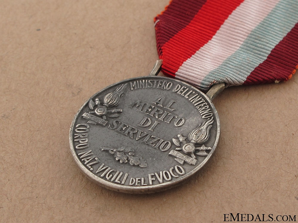 Medal of Merit for Service with the National Fire Brigade