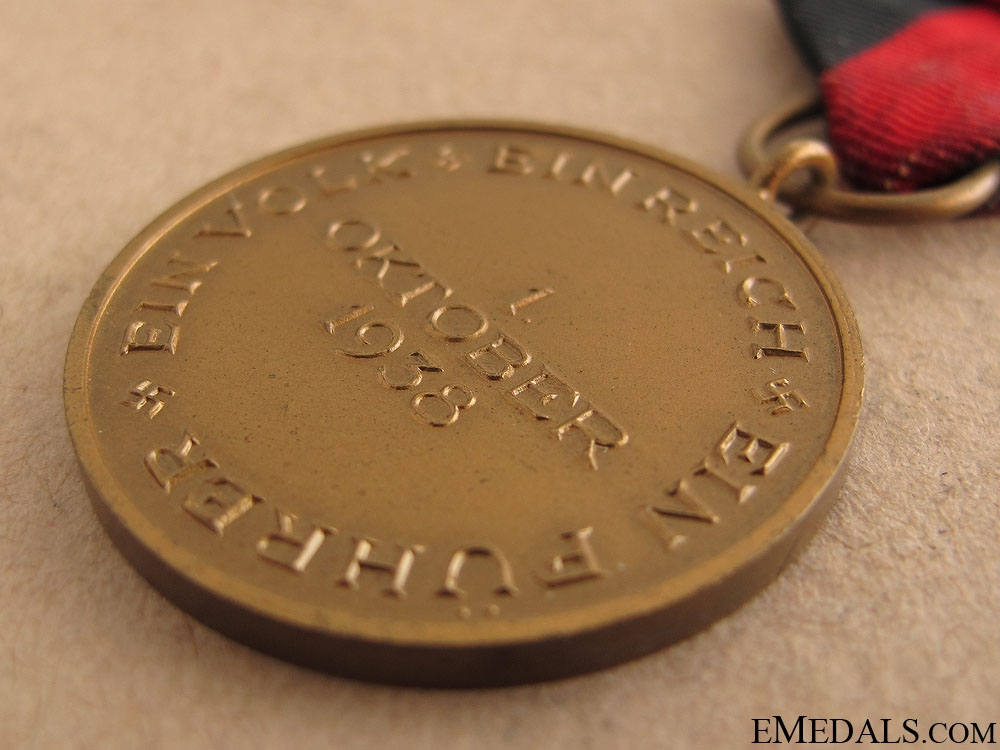 Commemorative Medal 1. October 1939