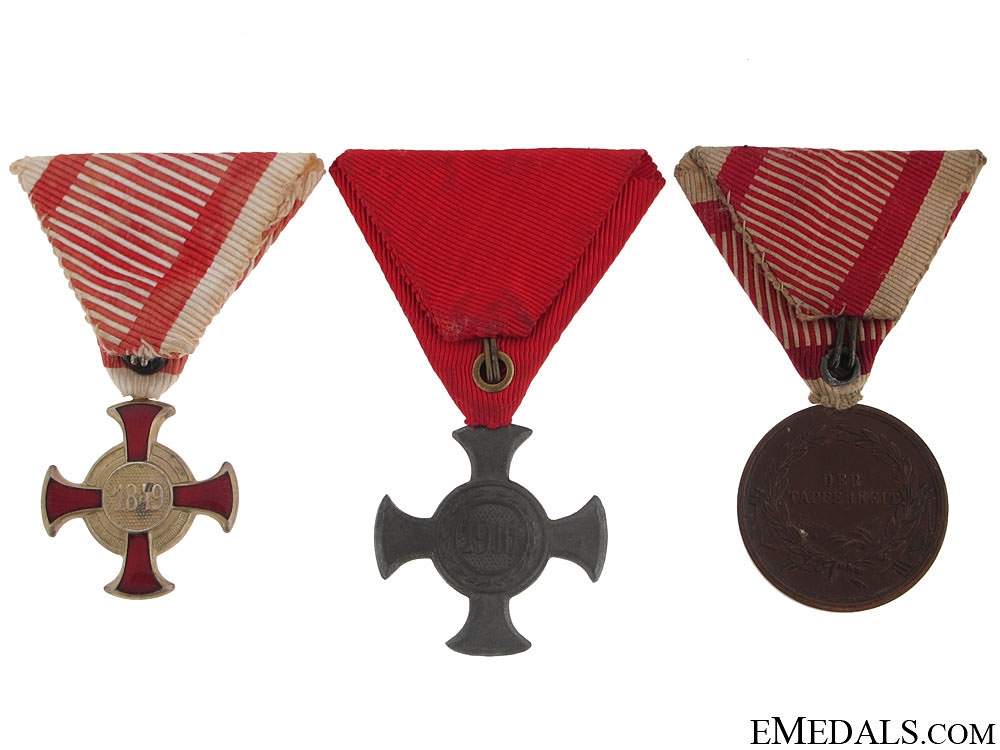 Group of Three Austrian Awards