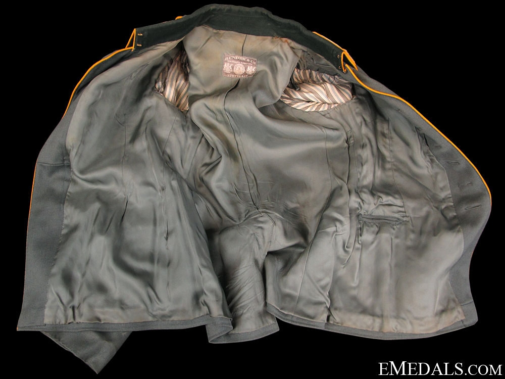 WWII German Army Cavalry Officers Field Service Tunic