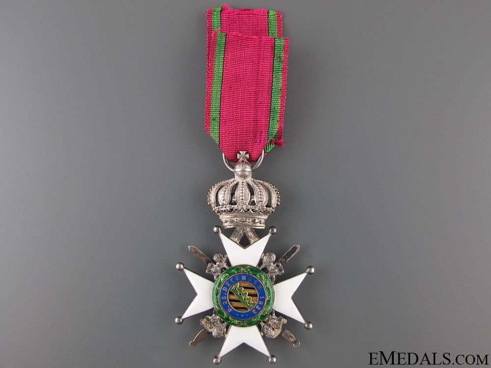 Saxe-Ernestine House Order – Knight 2nd Class