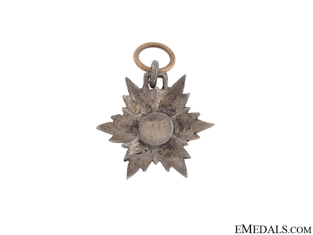 A Miniature Order of the Lion and Sun