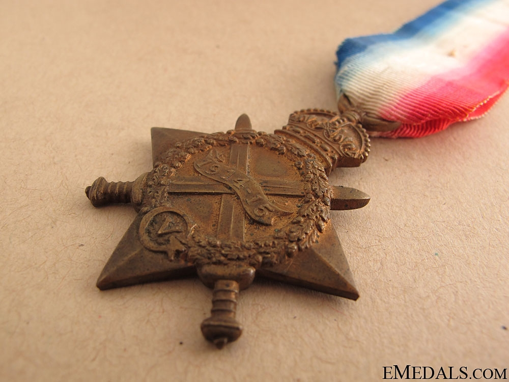 1914-15 Star - KIA Battle of Mont Sorrel
