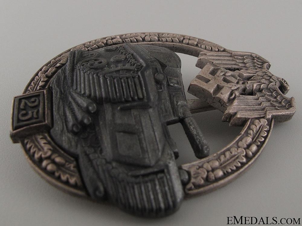 Tank Badge Grade II – Silver Grade, JFS