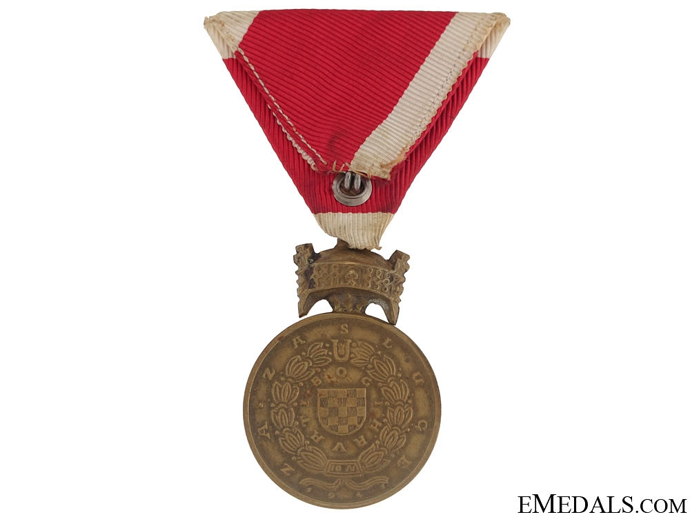 Bronze Merit Medal of King Zvonimir