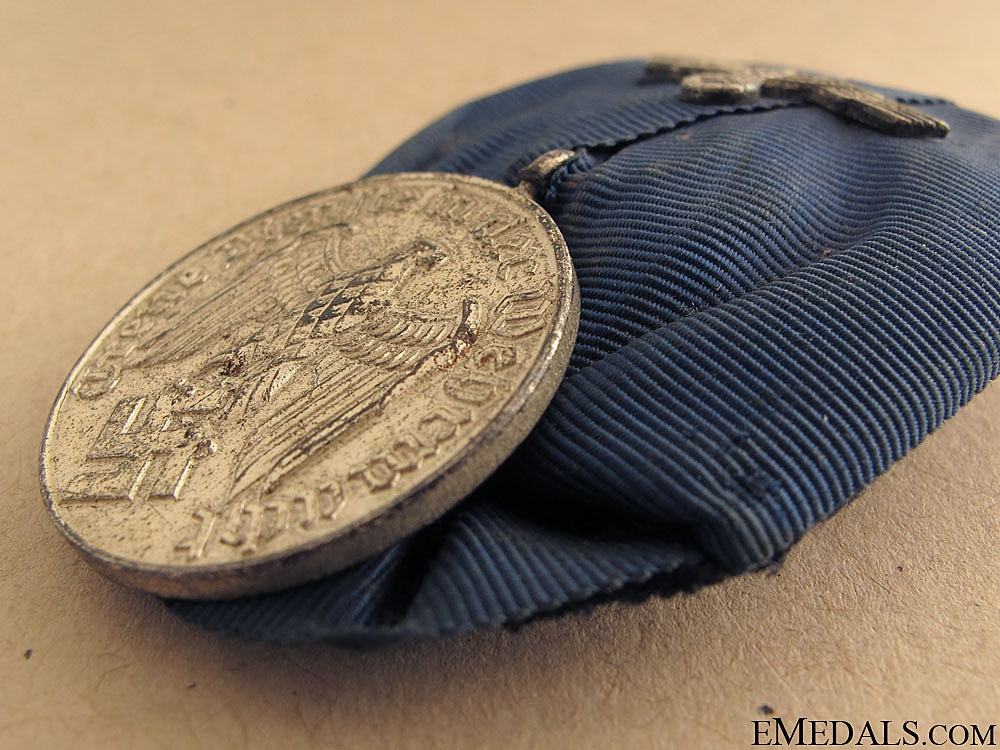 Army Four Years Long Service Medal