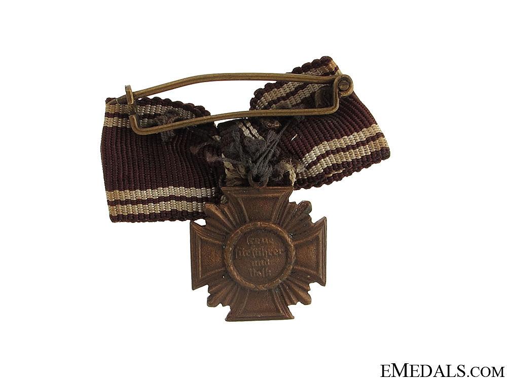 A Miniature NSDAP Ten Years Award