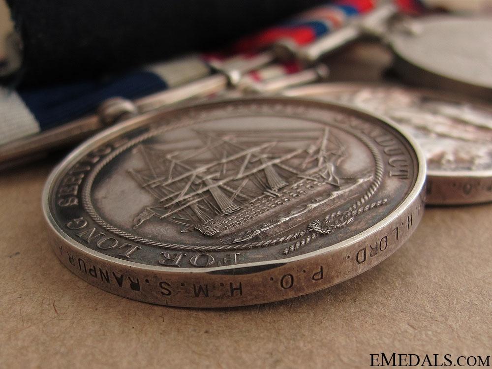A Royal Navy Long Service Group