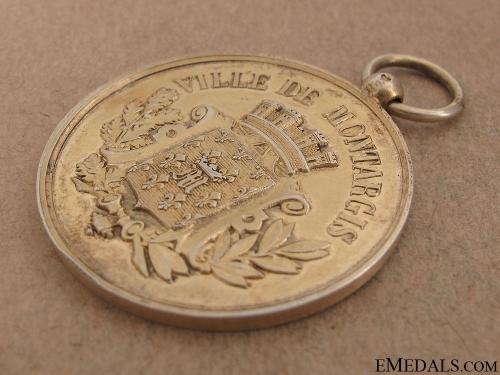 City of Montargis School Battalion Shooting Medal