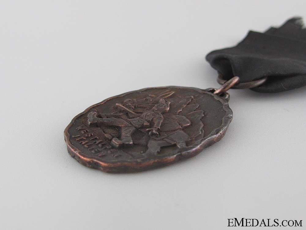 100th Gebirgsjäger Regt. in the Italian Alps Medal