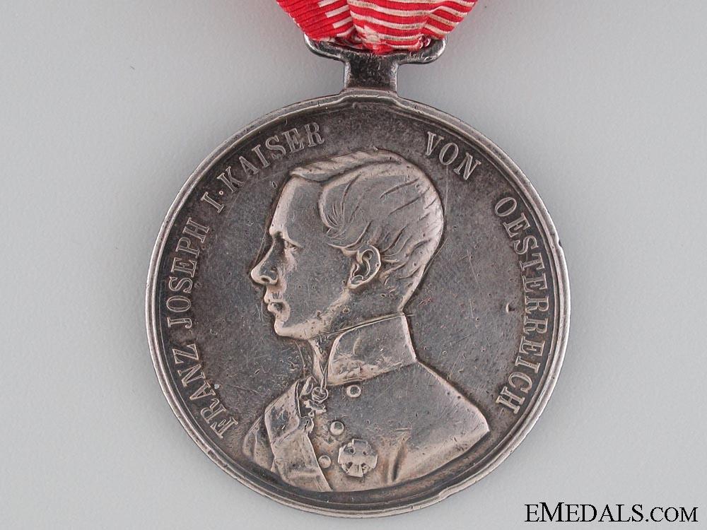 Silver Bravery Medal 1st. Cl. (1849-1859)