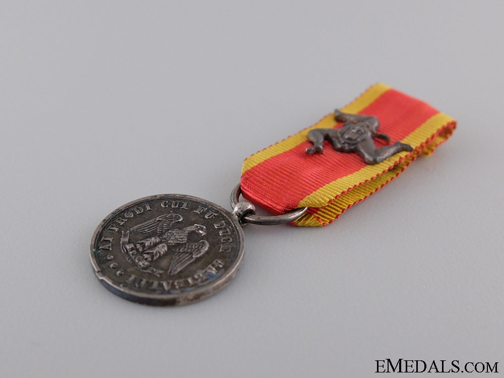 A Scarce Duke Galibaldi Medal for One Thousand Volunteers