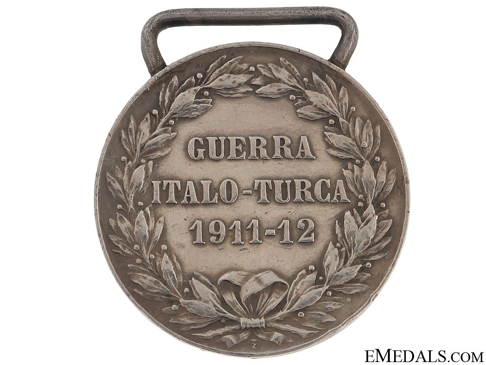 Commemorative Medal for the Italian-Turkish War, 1911-1912