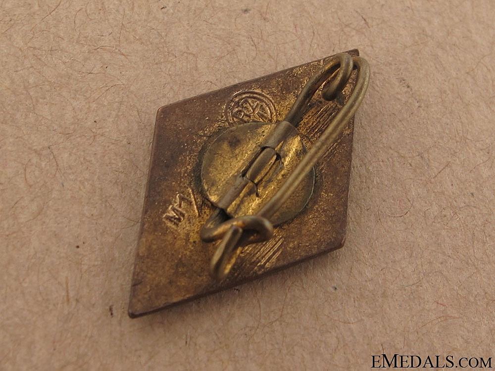 HJ Golden Honor Badge