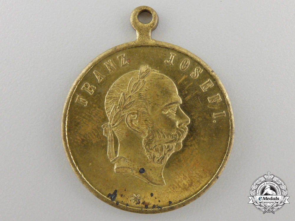 An 1891 Austrian Naval Maneuvers in Dalmatia Medal