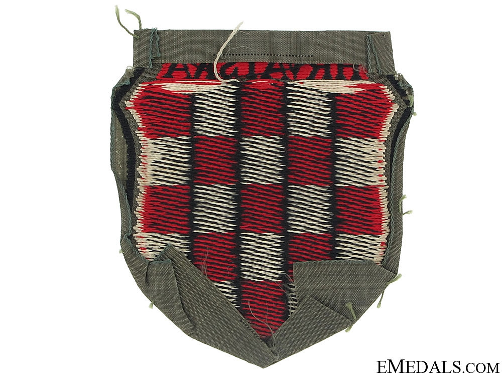 "Croatian Volunteer Shield ""¢�HRVATSKA""¢�"