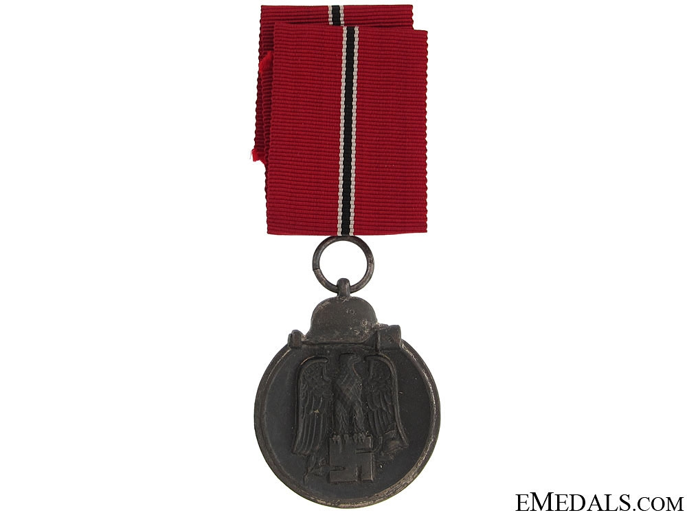 East Medal Award & Document to Obergefreiten