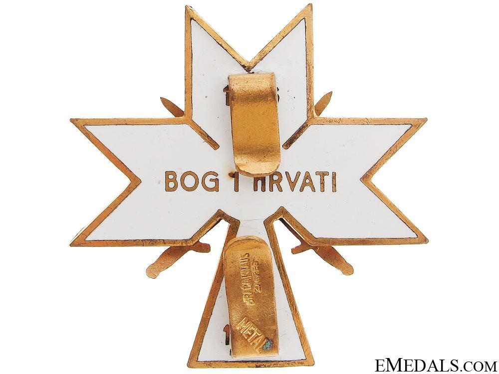 Order of King Zvonimir 1941-45