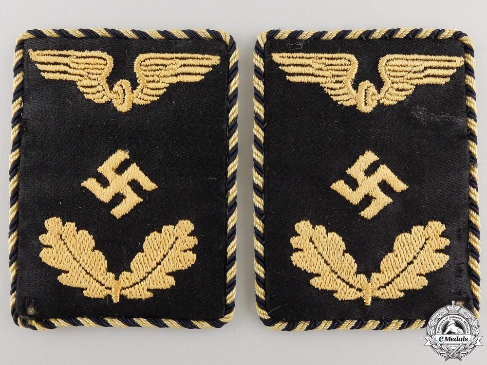A Pair of Deutche Reichsbahn Official's Collar Tabs