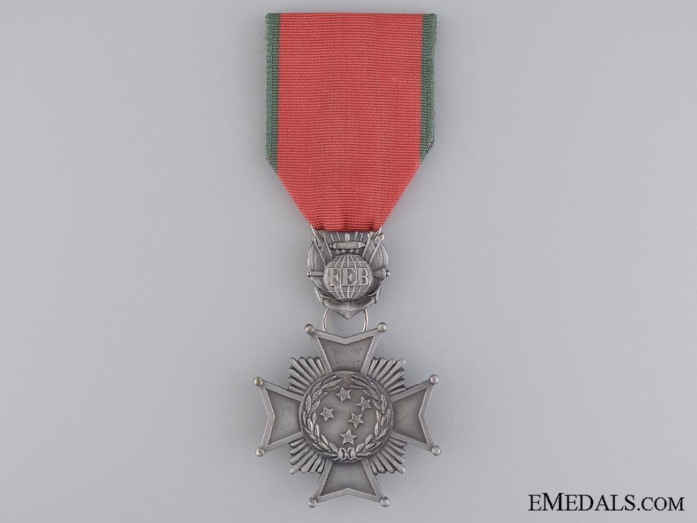 A 1944 Brazilian Combatant's Cross; 2nd Class