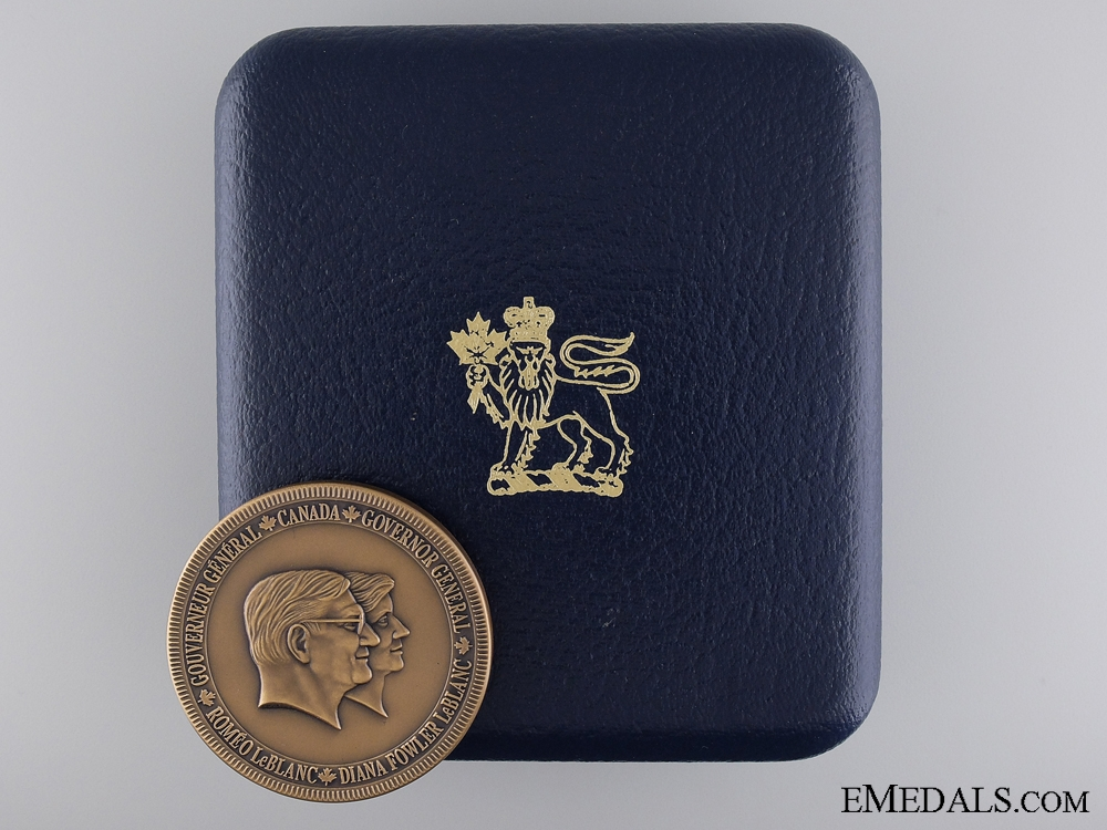 A 1995-1999 Governor General's Academic Medal; Birks