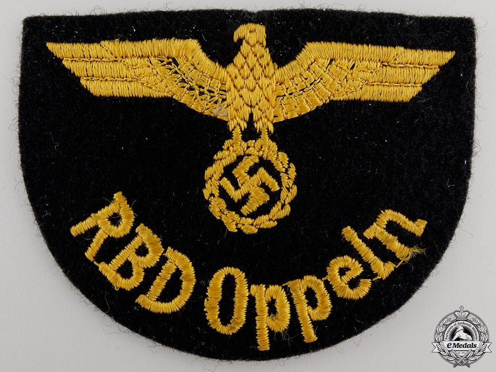 A Deutche Reichsbahn Official's Sleeve Eagle