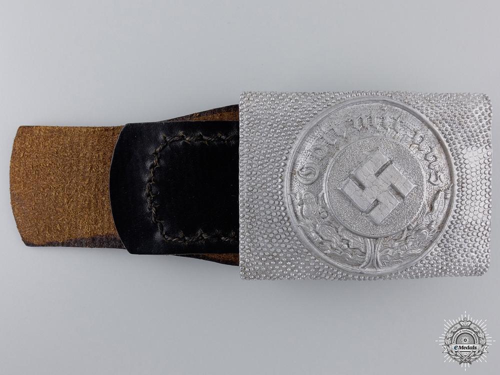 A Dutch Made Aluminum German Police Buckle
