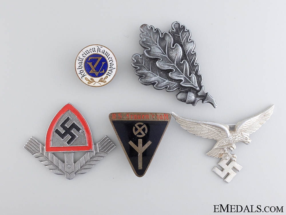 A Lot of Five German Insignia & Pins