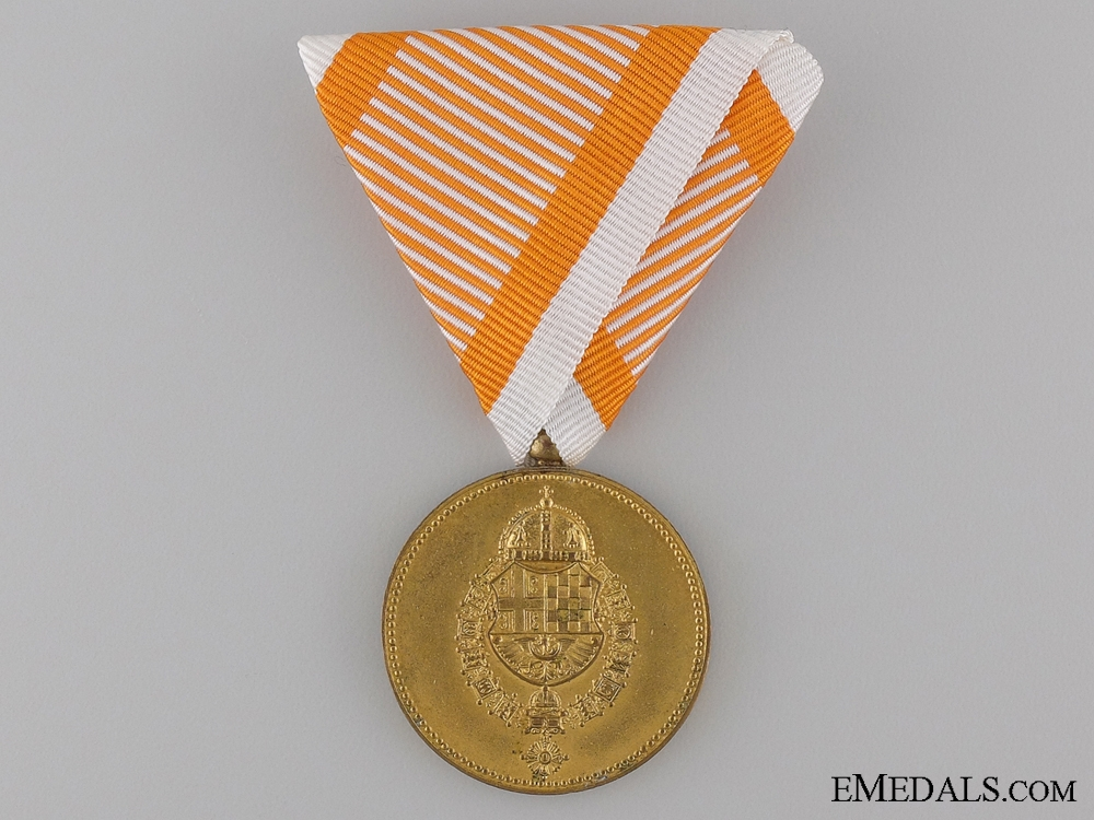 A Yugoslav Royal Household Service Gold Medal