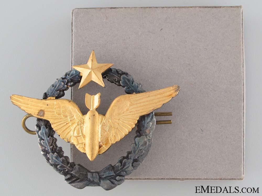 Air Force Navigator/Bombardier Badge