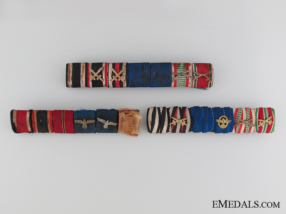 Army/Police Three Ribbon Bars
