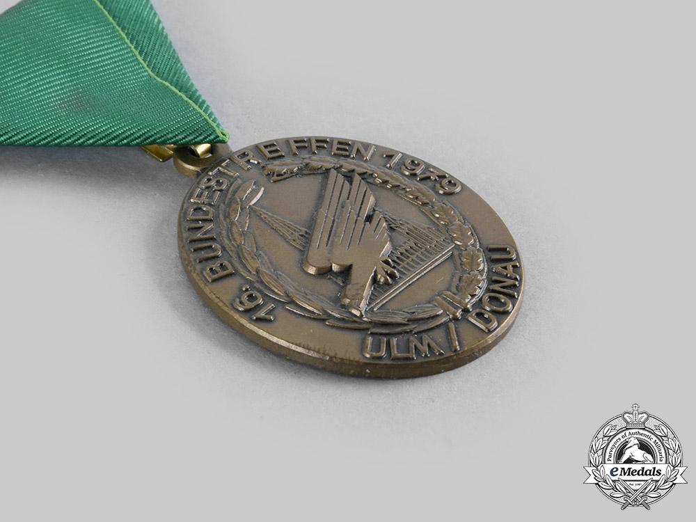 Germany, Federal Republic. A Lot of Fallschirmjäger Veterans Meeting Badges