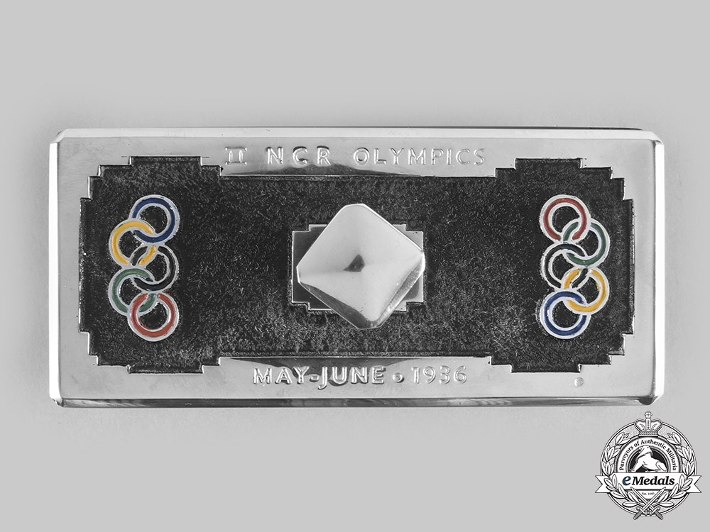 Germany, Third Reich. A 1936 Berlin Olympic Ink Blotter