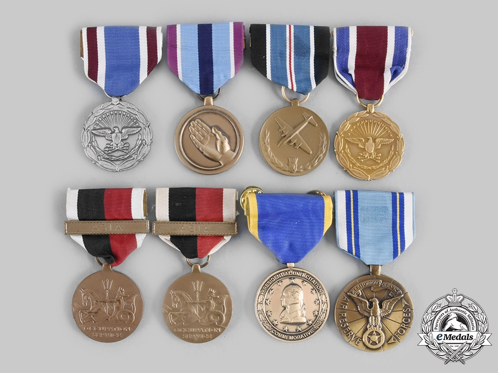 United States. A Lot of Eight Medals