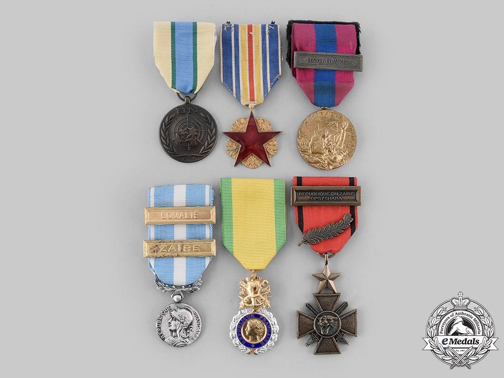 France, V Republic. A Foreign Legion Zaire and Somalia Veteran Parachutist's Group