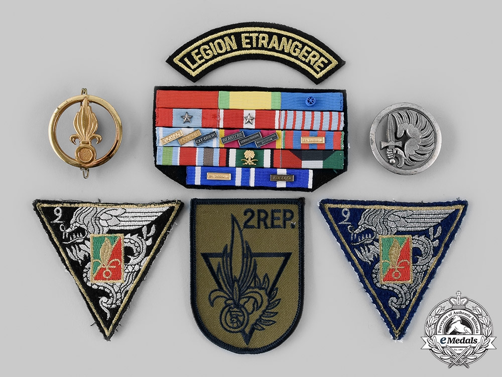 France, V Republic. A Foreign Legion Gulf War, Balkan and African Theatres Veteran's Group