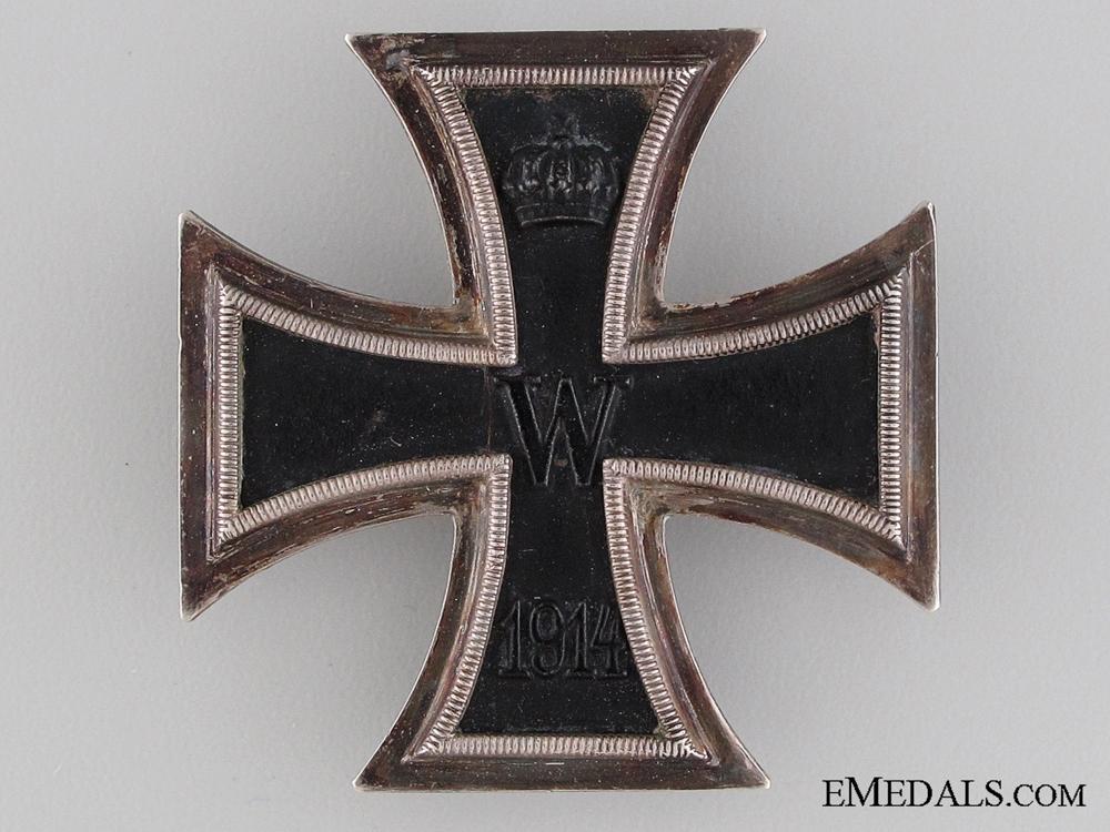 """Iron Cross First Class 1914 """"¢¤ Marked K.A.G."""