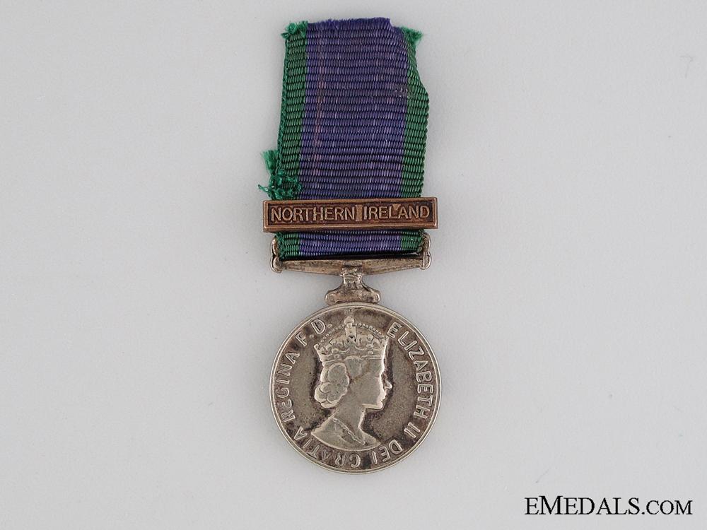 Miniature General Service Medal 1962-2007