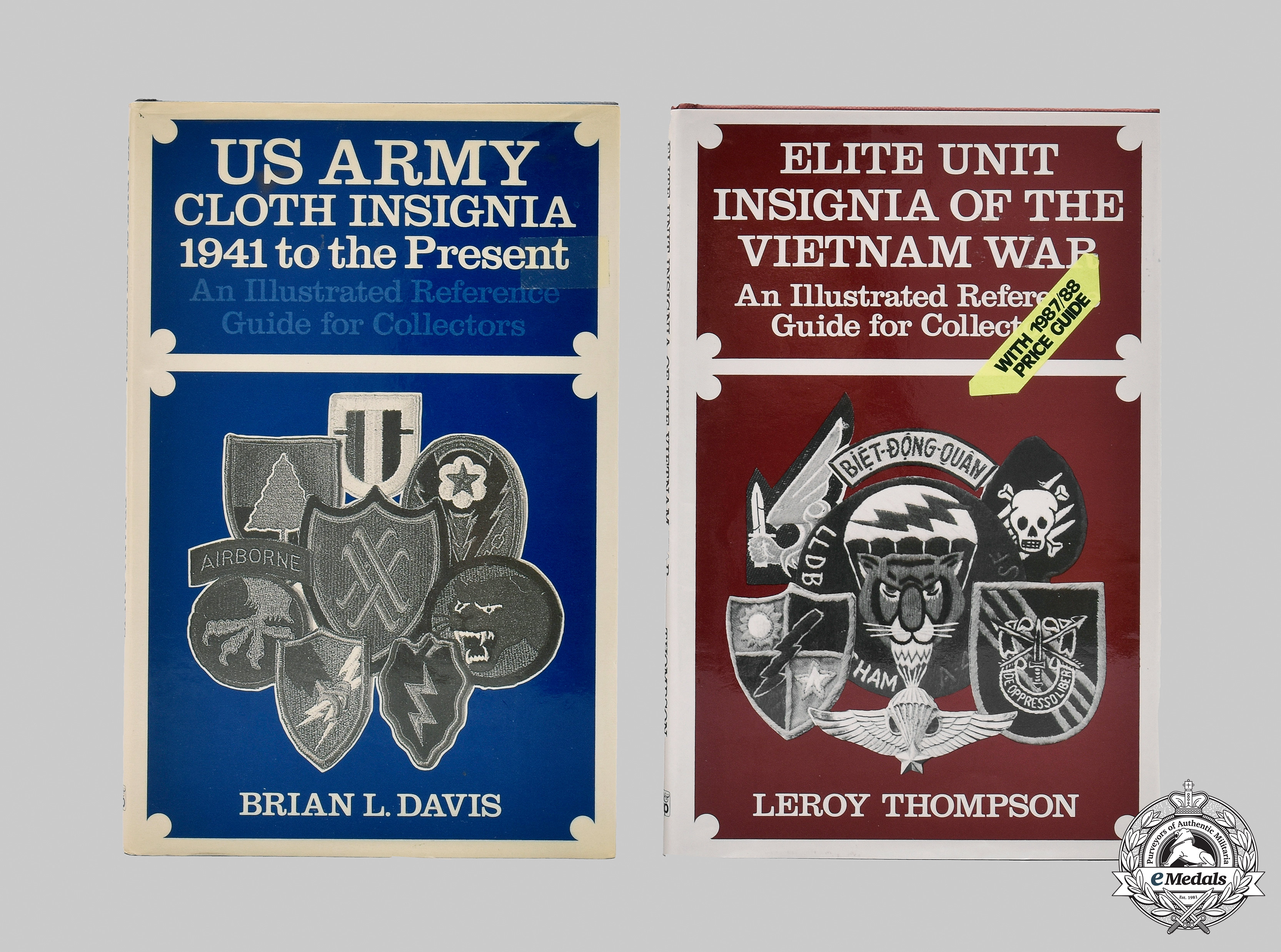United States. Two Armed Forces Insignia Books