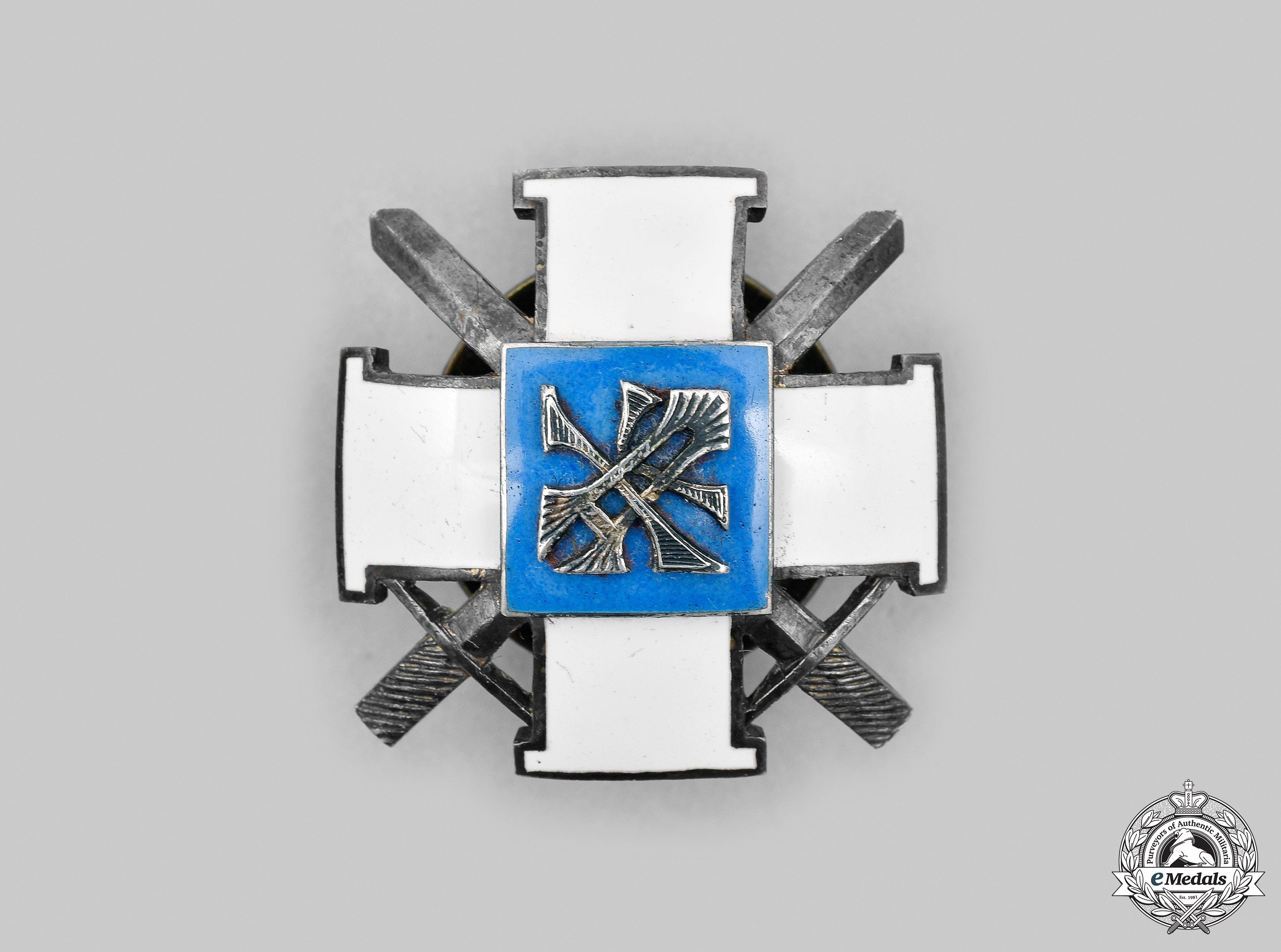 Estonia, Republic. A Military Academy Graduate Badge, by Roman Tavast
